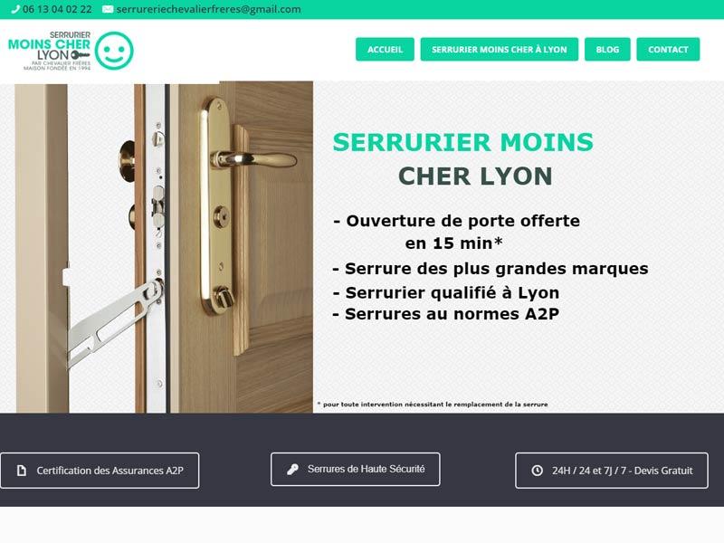 Serrurier moins cher Lyon – Devis ligne