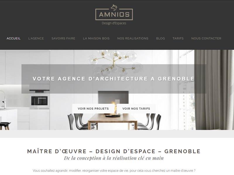 Amnios – maitre d'oeuvre Grenoble