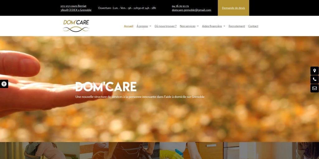DOM'CARE aide à Domicile sur Grenoble